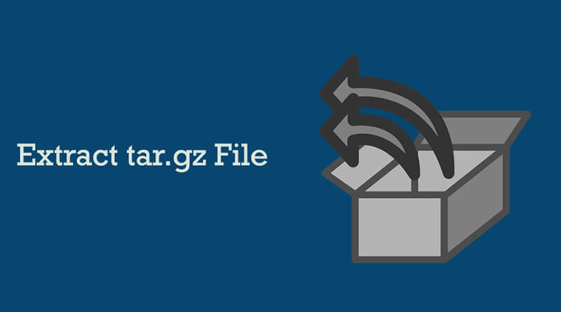How to create tar.gz file